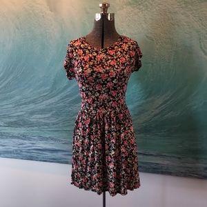 Cute floral skater dress